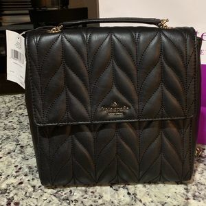 NWT Authentic Kate Spade Leather Convertible Bag